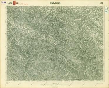 III. vojenské mapování 4369