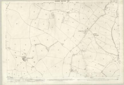 Essex (1st Ed/Rev 1862-96) XIV.10 (includes: Chickney; Debden; Henham) - 25 Inch Map