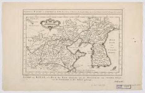 Carte du Katay : ou, Empire de Kin, pour servir a l'histoire de Jenghiz Khan ; raportée dans l'histoire generale des voyages, tirée de l'Anglois = Kaart van Kitay, of 't Ryk der Kin, dienende tot de historie van Jenghiz Khan, uit de Engelsche in dit Bestek gebragt