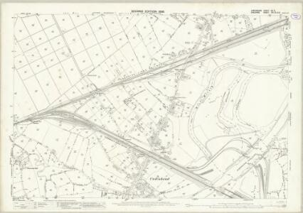 Lancashire CX.5 (includes: Carrington; Irlam; Partington; Rixton With Glazebrook) - 25 Inch Map
