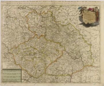 Le Royaume de Boheme Duché de Silesie, lesa Marquisat de Moravie et de Lusace