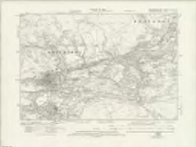 Brecknockshire XLVII.NE - OS Six-Inch Map