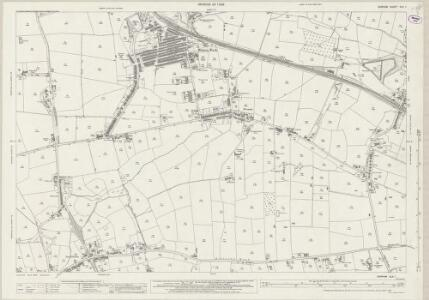 Durham XLII.1 (includes: Bishop Auckland; Etherley; Evenwood And Barony) - 25 Inch Map