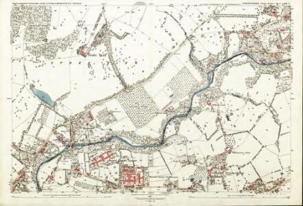 Gloucestershire LXXII.6 (includes: Bristol; Mangotsfield Urban; Stoke Gifford; Winterbourne) - 25 Inch Map