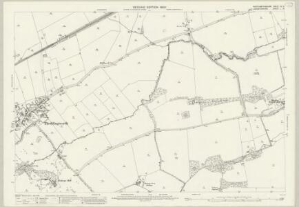 Northamptonshire XV.10 (includes: Lubenham; Marston Trussel; Theddingworth) - 25 Inch Map