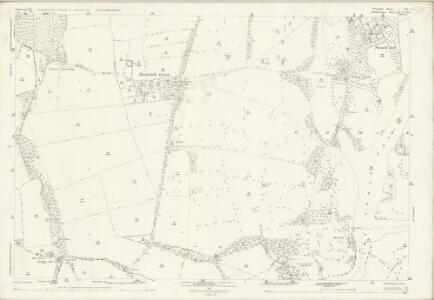 Shropshire LII.7 (includes: Badger; Beckbury; Patshull; Pattingham; Worfield) - 25 Inch Map