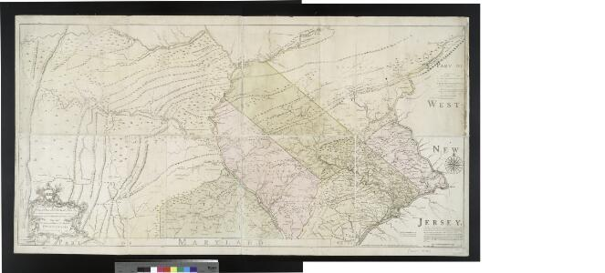 To the Honourable Thomas Penn and Richard Penn, Esqrs., true & absolute proprietaries & Governours of the Province of Pennsylvania & counties of New-Castle, Kent & Sussex on Delaware this map of the improved part of the Province of Pennsy