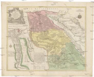 Le cours entier du grand et fameux Nil, appellé la riviere de l'Egypte dans l'Ecriture sainte avec la Basse et la Haute Egypte