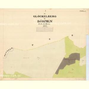Glöckelberg - c9317-3-001 - Kaiserpflichtexemplar der Landkarten des stabilen Katasters