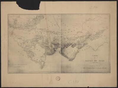 Carte du bassin du Niari (Loudima-Comba)