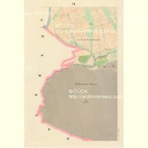 Babina - c0050-1-005 - Kaiserpflichtexemplar der Landkarten des stabilen Katasters