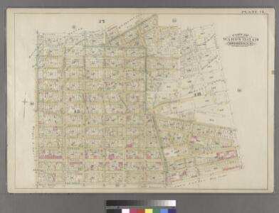 Plate 14: Part of Wards 15, 17 & 18. Brooklyn, N.Y.