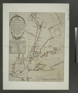 An accurate map of Staten Island : with that part of New York, Long Island and the Jerseys which is the rendesvous of the two grand armies and the supposed present seat of action / by a mercht. who resided in America 15 years.