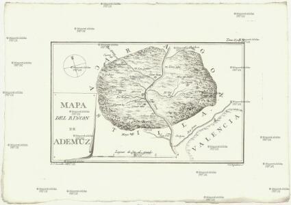 Mapa del rincon de Ademúz