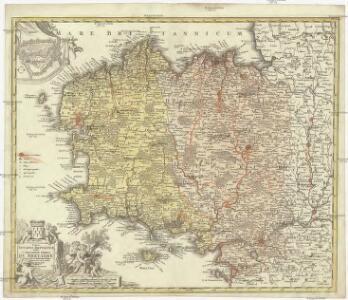 Tabula ducatus Brittaniae Gallis