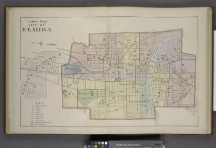 Index Map City of Elmira