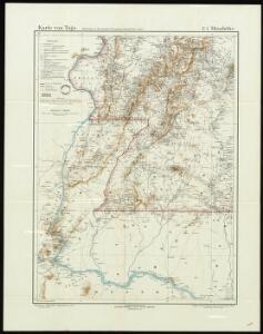 Karte von Togo. E1. Misahöhe.