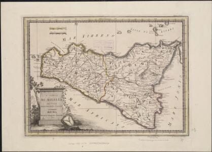 L' Isola di Sicilia divisa nelle sue valli