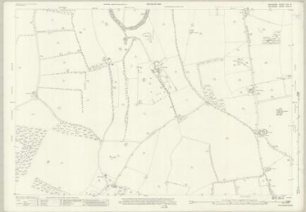 Wiltshire XXIV.14 (includes: Chilton Foliat; Lambourn; Ramsbury) - 25 Inch Map