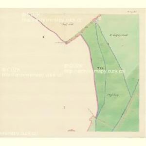 Göding (Hodonin) - m0741-1-027 - Kaiserpflichtexemplar der Landkarten des stabilen Katasters