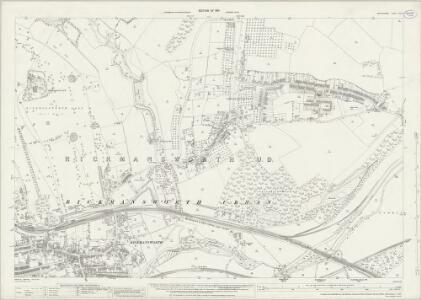 Hertfordshire XLIII.8 (includes: Rickmansworth Urban) - 25 Inch Map