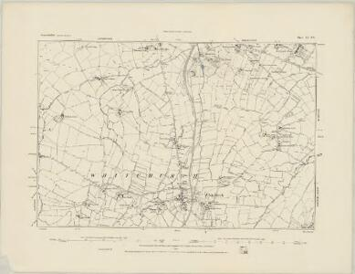 Somerset VI.SW - OS Six-Inch Map