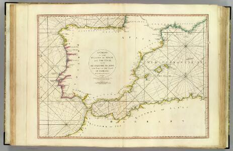 Coasts Spain, Portugal, Barbary.