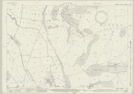 Somerset LXXXVIII.11 (includes: Chillington; Dinnington; Hinton St George; Kingstone) - 25 Inch Map