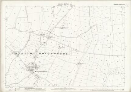 Derbyshire XLVII.8 (includes: Cubley; Marston Montgomery) - 25 Inch Map