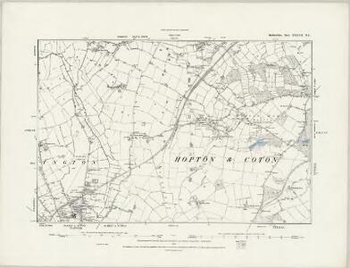 Staffordshire XXXVII.SE - OS Six-Inch Map