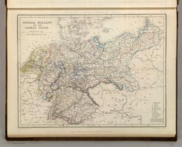 Prussia - Holland and the German States.