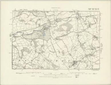 Somerset XCI.SE - OS Six-Inch Map