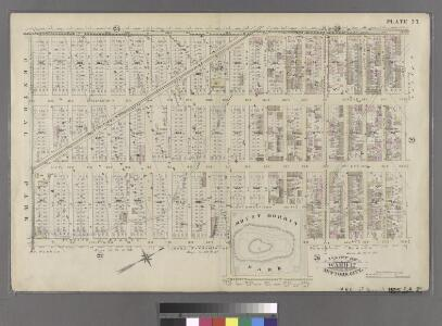 Plate 27: Bounded by Eighth Avenue, W. 129th Street, Fifth Avenue, W. 124th Street, Madison Avenue, W. 120th Street, Fifth Avenue and W. 110th Street.