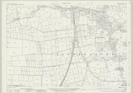 Somerset X.12 (includes: Congresbury) - 25 Inch Map