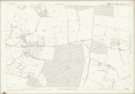 Hertfordshire IX.7 (includes: Langley; Nuthampstead) - 25 Inch Map
