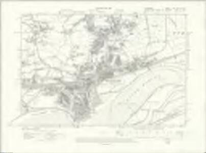 Cheshire XV.SW & SE - OS Six-Inch Map