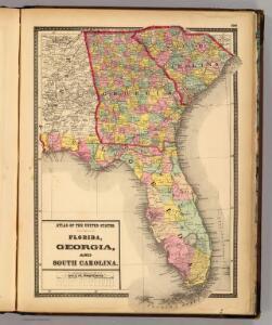 Florida, Georgia, and South Carolina.