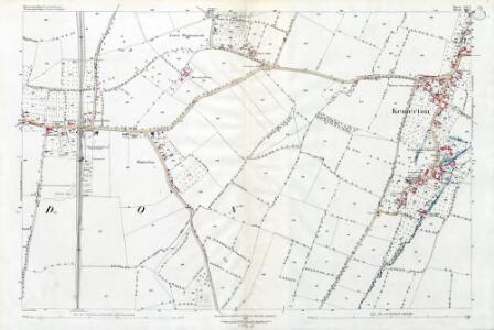 Worcestershire LV.3 (includes: Bredon; Kemerton) - 25 Inch Map