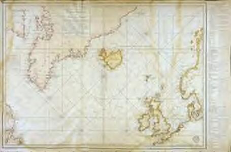 Carte réduite des mers du Nord