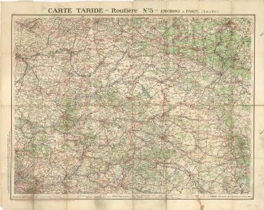 Carte Taride Routiere