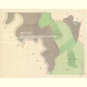 Chilitz (Chilice) - m1000-1-002 - Kaiserpflichtexemplar der Landkarten des stabilen Katasters
