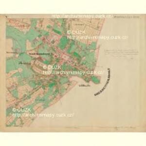 Rumburg - c6626-1-006 - Kaiserpflichtexemplar der Landkarten des stabilen Katasters