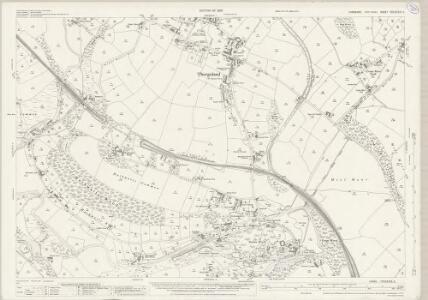 Yorkshire CCLXXXII.5 (includes: Hunshelf; Thurgoland; Wortley) - 25 Inch Map