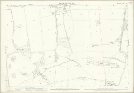 Berkshire XX.4 (includes: Ardington; East Hendred; West Hendred) - 25 Inch Map
