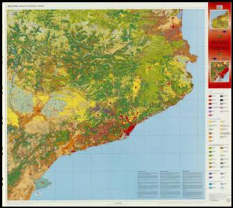 Mapa CORINE Land Cover de Catalunya 1:250 000