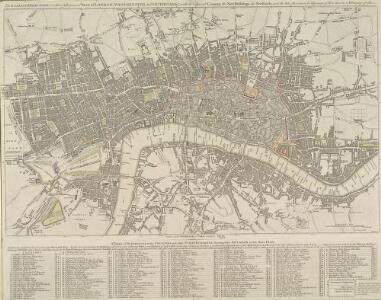 The LONDON DIRECTORY, or a New & Improved PLAN of LONDON, WESTMINSTER, & SOUTHWARK;