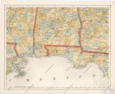 Special -Karte der Vereinigten Staaten von Nord - America No 14.