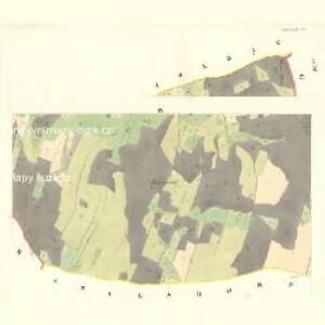 Schönwald (Schömwaldy) - m2321-6-009 - Kaiserpflichtexemplar der Landkarten des stabilen Katasters