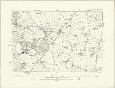 Cornwall XLVIII.SW - OS Six-Inch Map