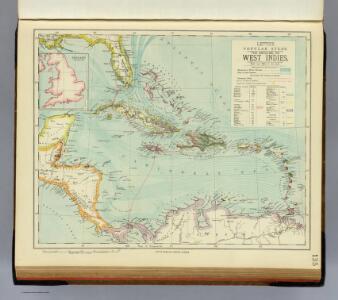 Antilles or W. Indies.